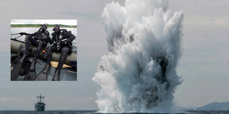 Plongeurs-démineurs de la Marine nationale : sang-froid de rigueur pour missions à haut risque