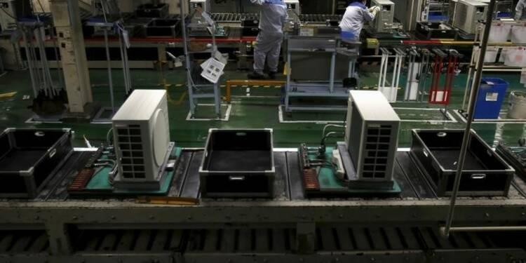 Rebond de la production industrielle japonaise en juin