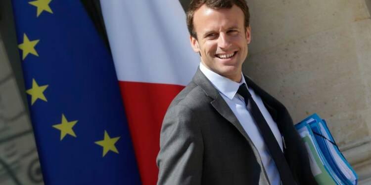 Macron veut continuer à s'attaquer aux freins de la croissance