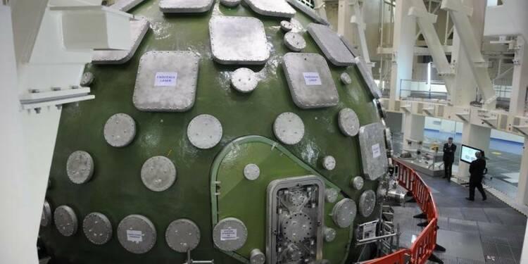 Inauguration près de Bordeaux du plus puissant laser du monde