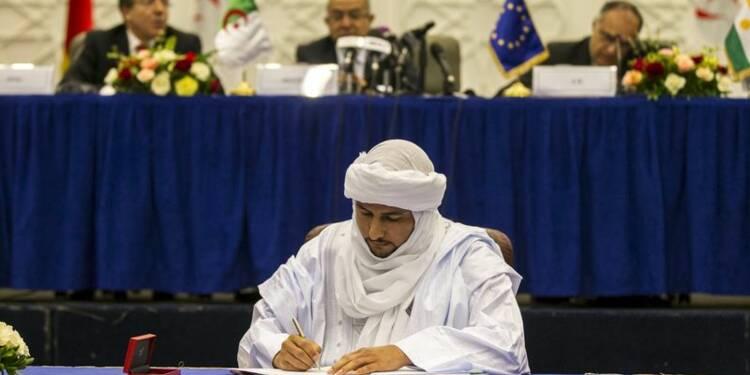 La rébellion touareg au Mali signe l'accord de paix préliminaire