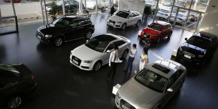 Baisse des ventes d'Audi en Chine en mai, une première en 2 ans