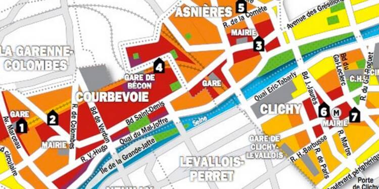 Immobilier en Ile-de-France : la carte des prix de 50 villes proches de Paris