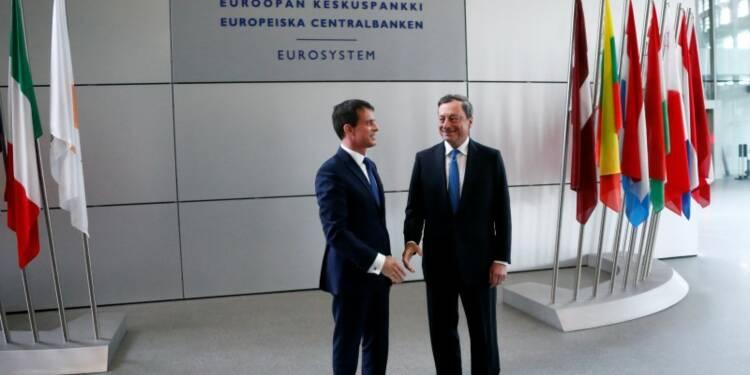 Je bâtis une flexi-sécurité à la française, dit Valls à la BCE