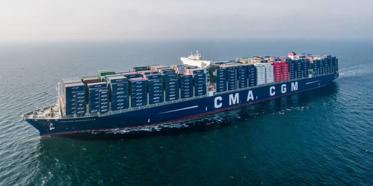 """Découvrez le """"Bougainville"""" : un milliard d'euros de marchandises à bord !"""