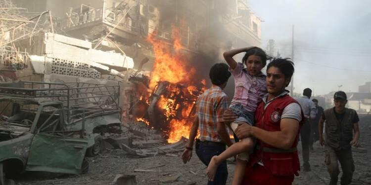 Raids de l'armée syrienne près de Damas, 247 morts en 10 jours