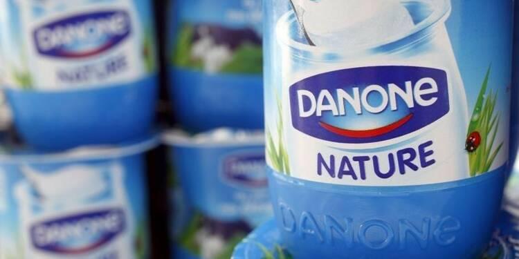 Danone prévoit une amélioration de sa croissance à l'horizon 2020