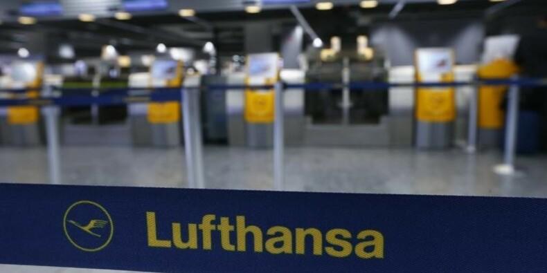 Lufthansa annulera 929 vols lundi à cause de la grève