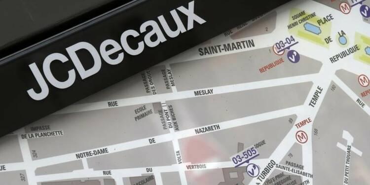 JCDecaux chute en Bourse, résultats et perspectives déçoivent