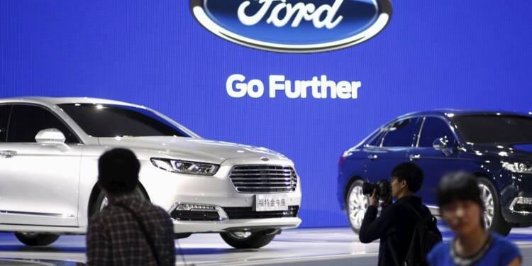 Ford voit ses ventes marquer le pas en Chine