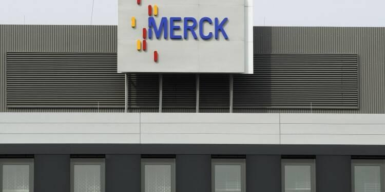 Merck compte sur sa division pharmaceutique pour la croissance