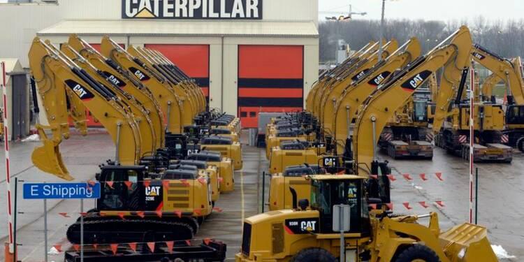 Caterpillar affiche un bénéfice net en hausse au 1er trimestre