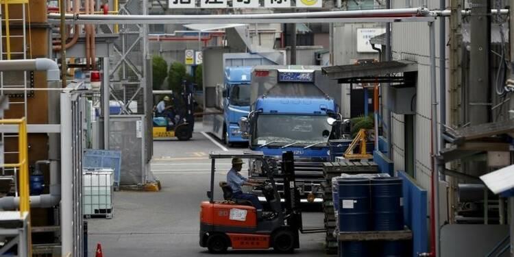 Plus forte croissance du secteur manufacturier japonais en un an
