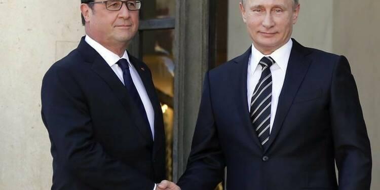 Paris et Moscou veulent coopérer davantage contre Daech