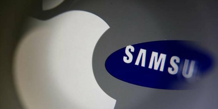Apple remporte une bataille judiciaire contre Samsung aux USA