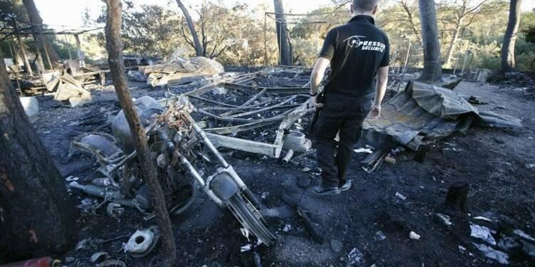 Incendie à Fréjus, 10.000 campeurs évacués