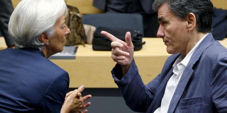 COR-Le FMI invite l'Europe à alléger davantage la dette grecque