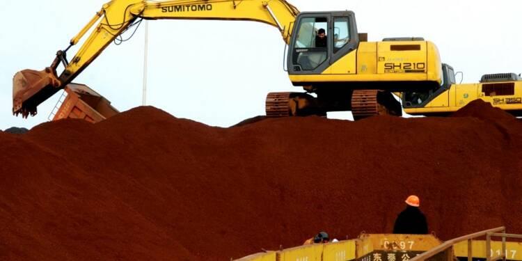 La chute des cours du minerai de fer plombe l'avenir des miniers