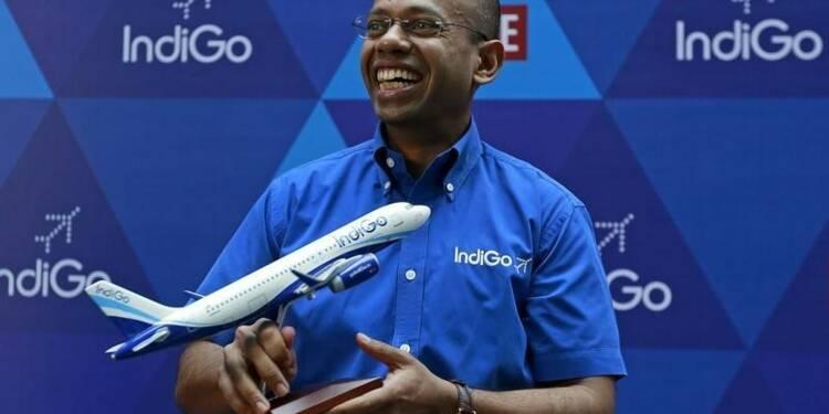 La compagnie aérienne IndiGo bondit pour ses débuts en Bourse