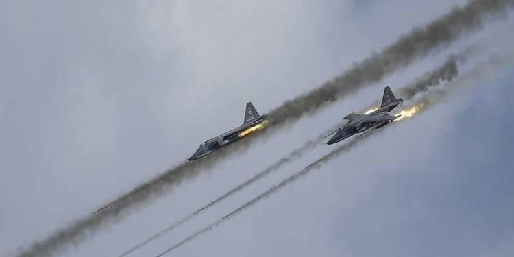 La Russie passe à l'action en Syrie, alarme en Occident