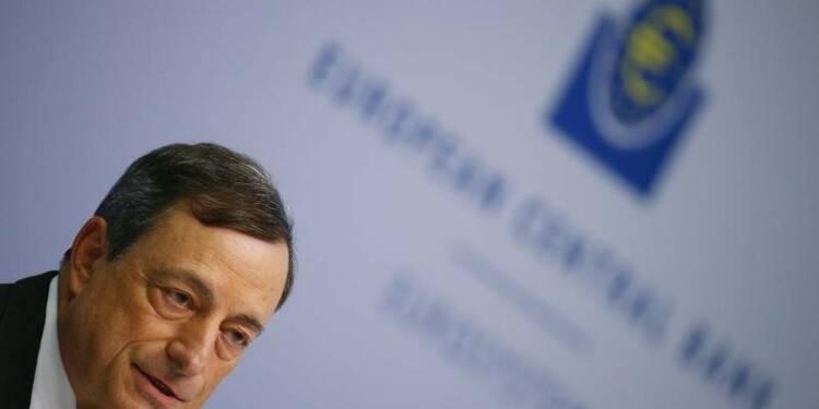 L'inflation négative en zone euro accroît la pression sur la BCE