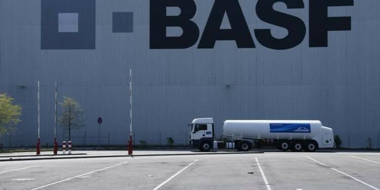 BASF réduit ses prévisions avec la Chine