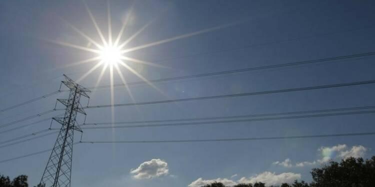La chaleur a privé 830.000 foyers d'électricité