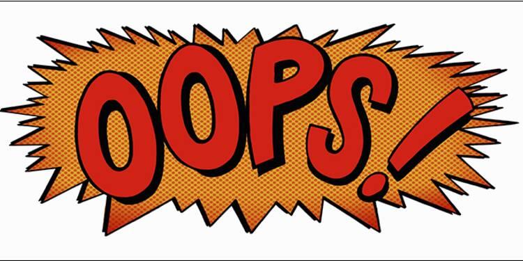 Les 30 fautes les plus fréquentes au travail... et comment les éviter