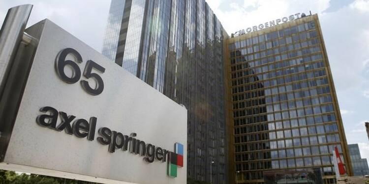 Bénéfice meilleur que prévu pour Axel Springer au 2e trimestre