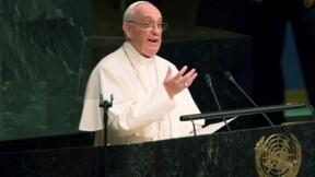 A l'Onu, le pape dénonce la quête de richesses matérielles