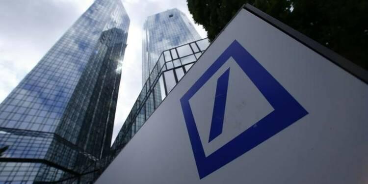 Les frais juridiques grèvent la performance de Deutsche Bank