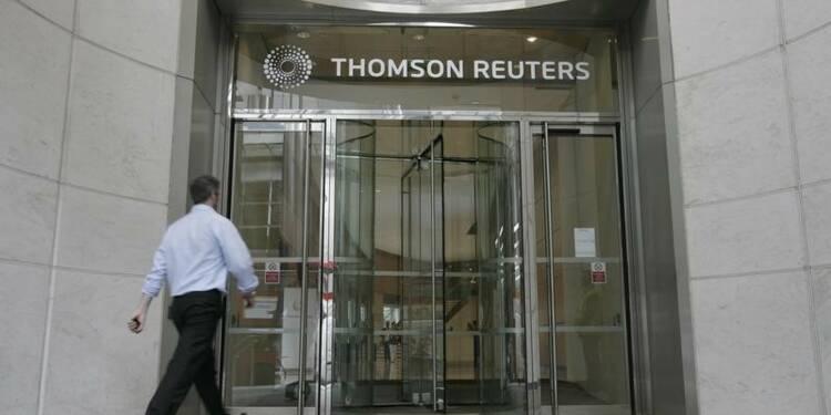 Profits supérieurs aux attentes pour Thomson Reuters