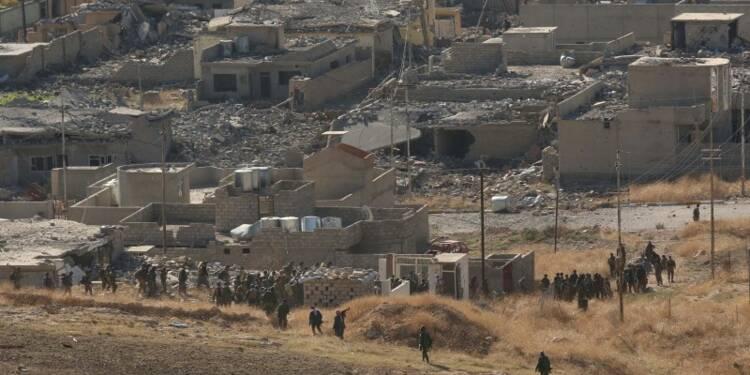 Les combattants kurdes reprennent Sindjar à l'EI en Irak