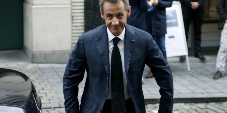 """Nicolas Sarkozy défend la légitimité du """"peuple des adhérents"""""""