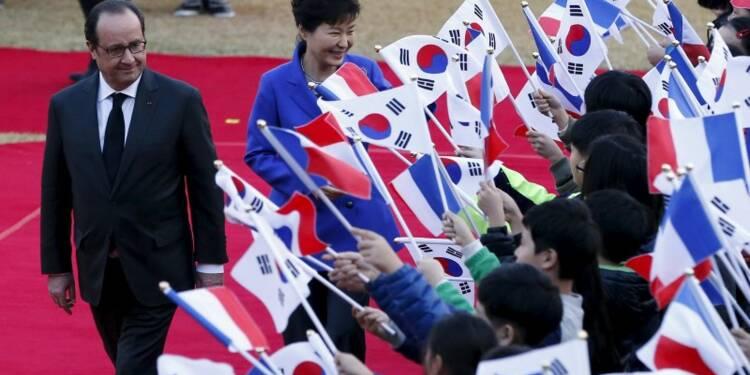 La France et la Corée renforcent leur partenariat