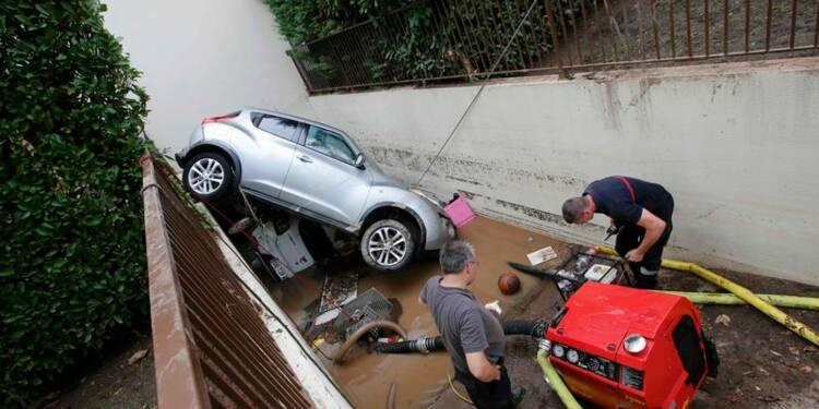 Un bilan de 20 morts après les inondations dans le Sud-Est