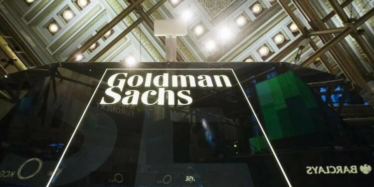 Goldman Sachs pénalisé par la chute des marchés au 3e trimestre