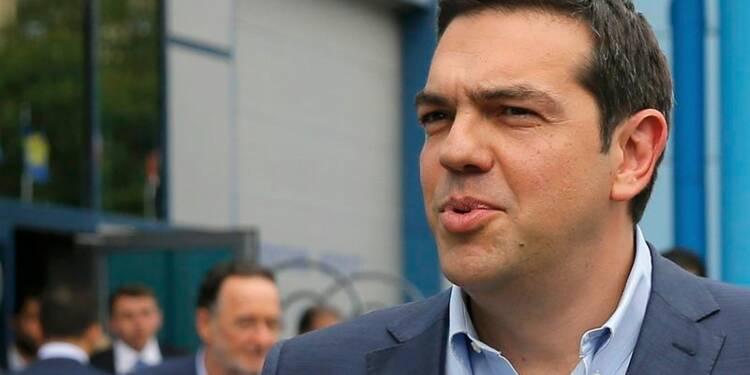 Alexis Tsipras optimiste sur une solution à la crise grecque