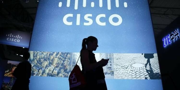 Les résultats trimestriels de Cisco meilleurs que prévu