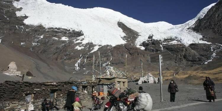 Alerte sur les glaciers tibétains, dit le dalaï-lama