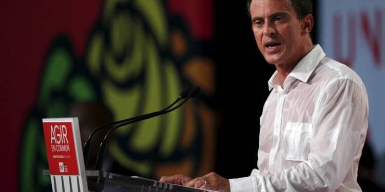 """Manuel Valls soutient le référendum du """"peuple de gauche"""""""