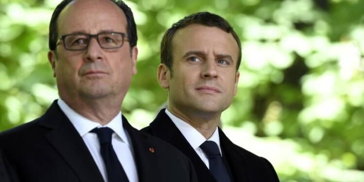 Hollande presse Macron de réconcilier le pays pour éviter le pire