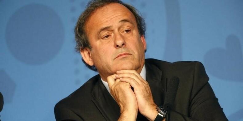 Michel Platini candidat à la présidence de la Fifa