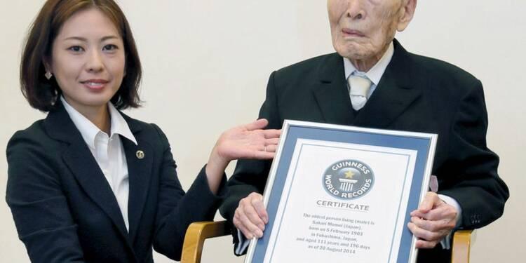 Décès à 112 ans au Japon de l'homme le plus âgé au monde
