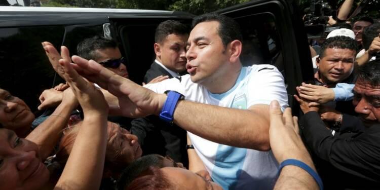 Un humoriste remporte l'élection présidentielle au Guatemala