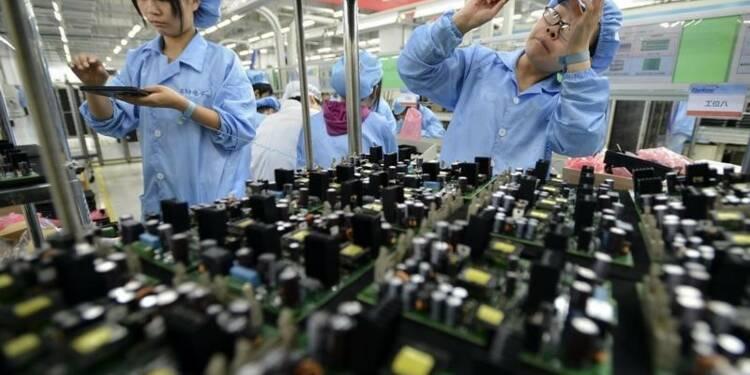 Le ralentissement du secteur manufacturier s'accentue en Chine