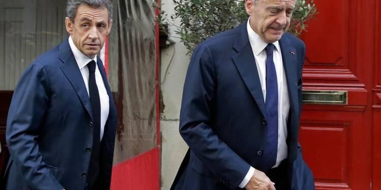 Nicolas Sarkozy et Alain Juppé déjeunent ensemble