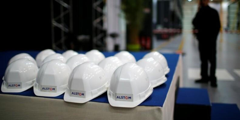 Emmanuel Macron réaffirme l'engagement de l'Etat auprès d'Alstom