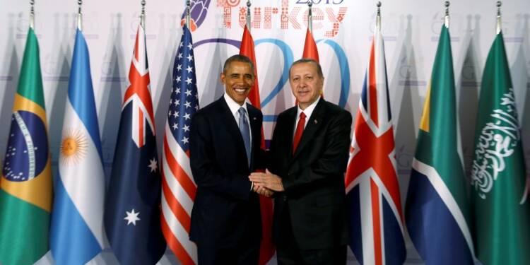 Au G20, Barack Obama promet d'intensifier la lutte contre l'EI