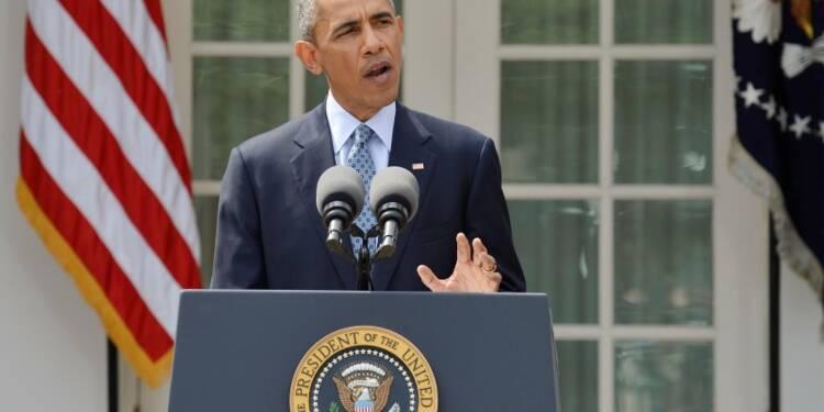 "Barack Obama parle d'un ""bon accord"" conclu avec l'Iran"